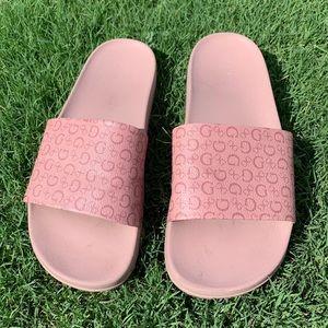 Guess pink slides